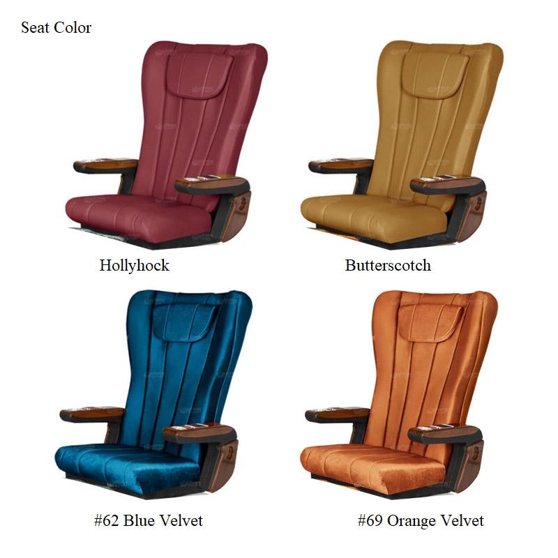 Ampro Luxury Spa Pedicure Chair with Magnetic Jet – Shiatsu Massage System