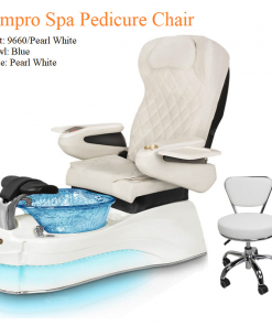 Ampro Luxury Spa Pedicure Chair with Magnetic Jet – Shiatsu Massage System