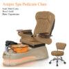Ampro Luxury Spa Pedicure Chair with Magnetic Jet Shiatsu Massage System 10a 100x100 - Ghế Làm Chân Cao Cấp Ampro Dùng Jet Nam Châm
