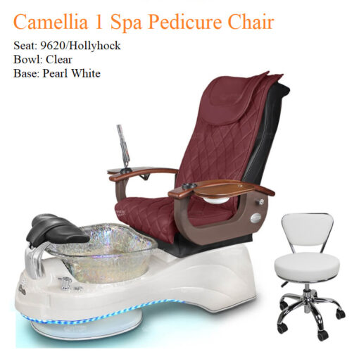 Camellia 1 Luxury Spa Pedicure Chair with Magnetic Jet – Shiatsu Massage System