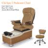 Chi Spa 2 Luxury Massage Pedicure Chair 050 100x100 - Ghế Làm Chân Cao Cấp Chi Spa 2 Dùng Jet Nam Châm Và Hệ Thống Mát-Xa Shiatsu