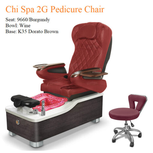 Chi Spa 2G Luxury Pedicure Chair with Magnetic Jet – Shiatsu Massage System