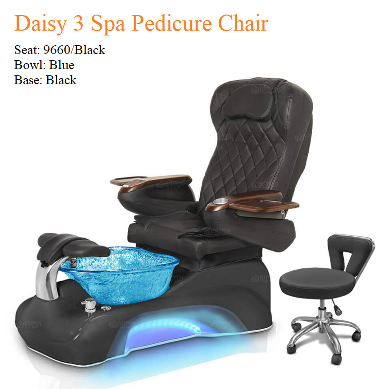 Daisy 3 Luxury Spa Pedicure Chair with Magnetic Jet – Shiatsu Massage System