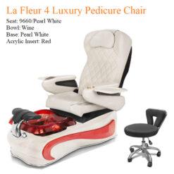 La Fleur 4 Luxury Pedicure Chair with Magnetic Jet – Shiatsu Massage System a1 247x247 - Thiết bị đồ nội thất tiệm nail làm móng tay móng chân