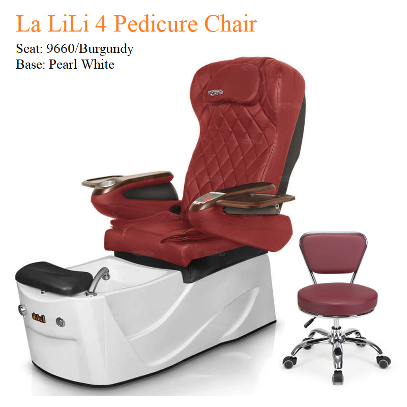 La LiLi 4 Luxury Pedicure Chair with Magnetic Jet – Shiatsu Massage System