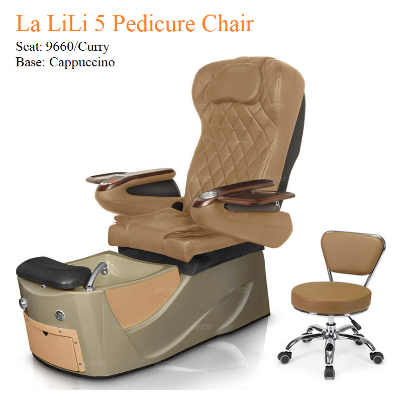 La LiLi 5 Luxury Pedicure Chair with Magnetic Jet – Shiatsu Massage System