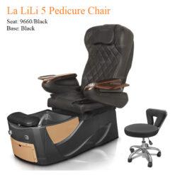 La LiLi 5 Luxury Pedicure Chair with Magnetic Jet – Shiatsu Massage System a5 247x247 - Equipment nail salon furniture manicure pedicure