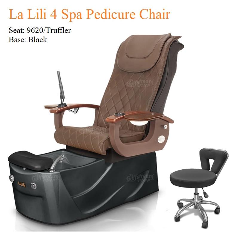 La LiLi 4 Luxury Pedicure Chair with Magnetic Jet – Shiatsu Massage System