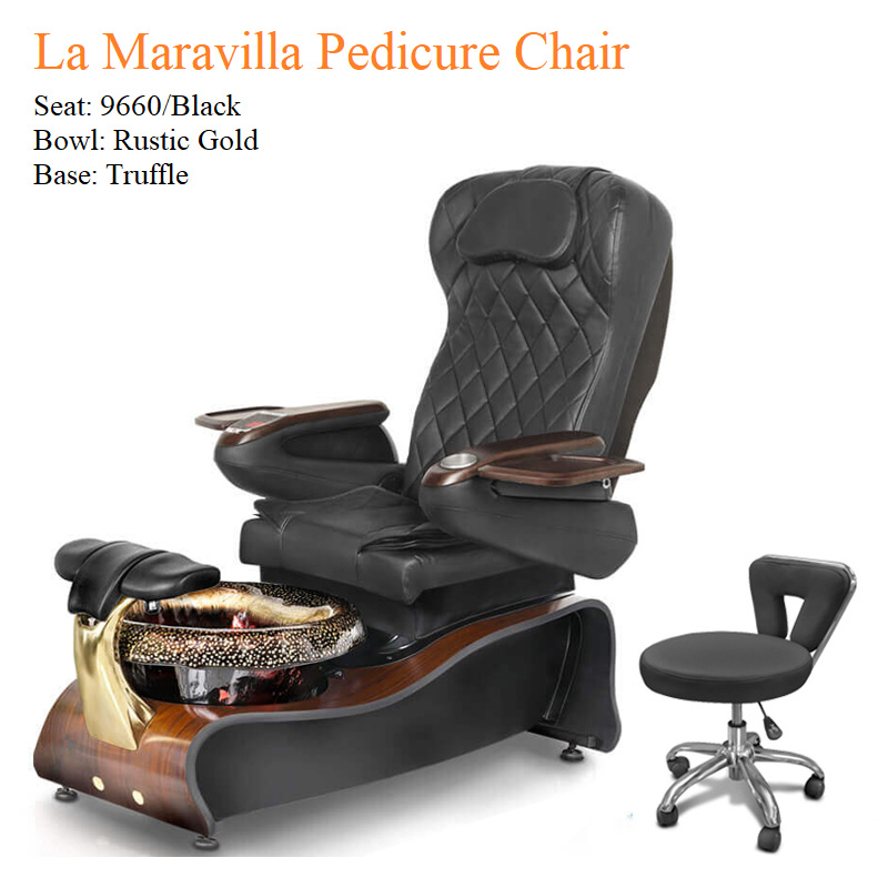 La Maravilla Luxury Pedicure Chair with Magnetic Jet – Shiatsu Massage System