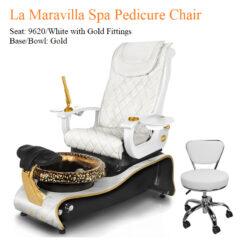 La Maravilla Luxury Pedicure Chair with Magnetic Jet – Shiatsu Massage System