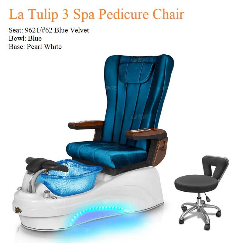La Tulip 3 Luxury Spa Pedicure Chair with Magnetic Jet – Shiatsu Massage System