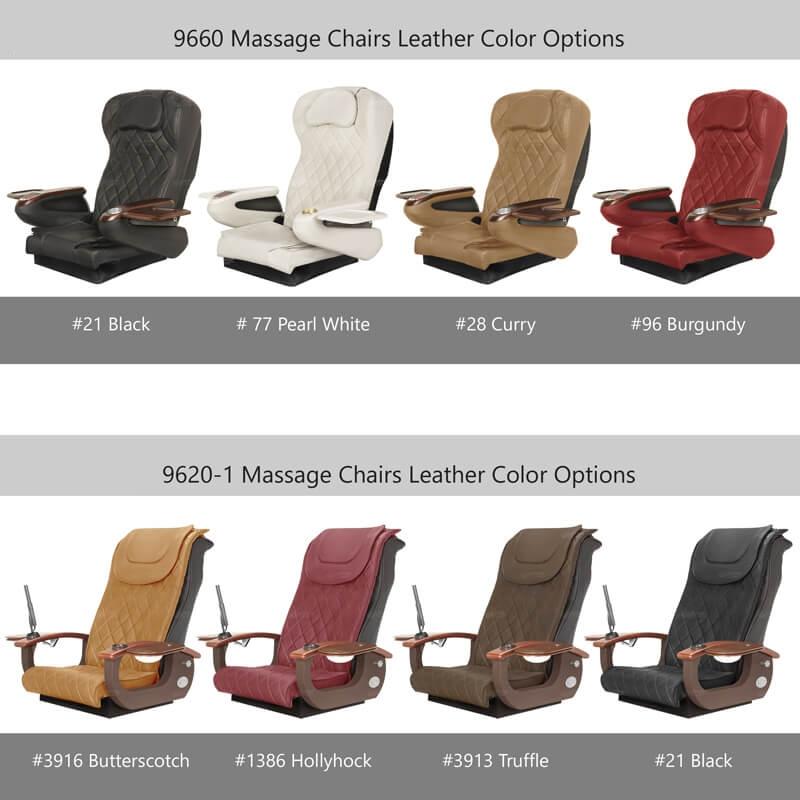 La Violette Luxury Pedicure Chair with Magnetic Jet – Shiatsu Massage System