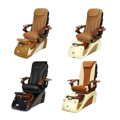 Alessi Spa Pedicure Chair with Magnetic Jet – Shiatsulogic Massage System