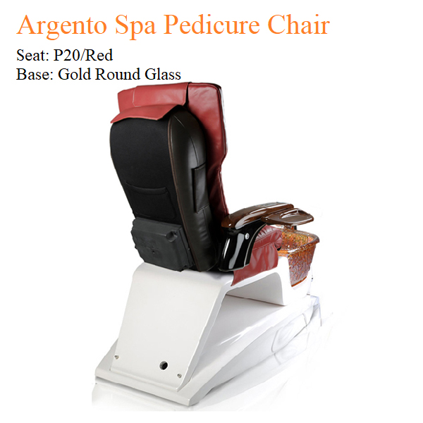 Argento Spa Pedicure Chair with Magnetic Jet – Human Touch Massage System