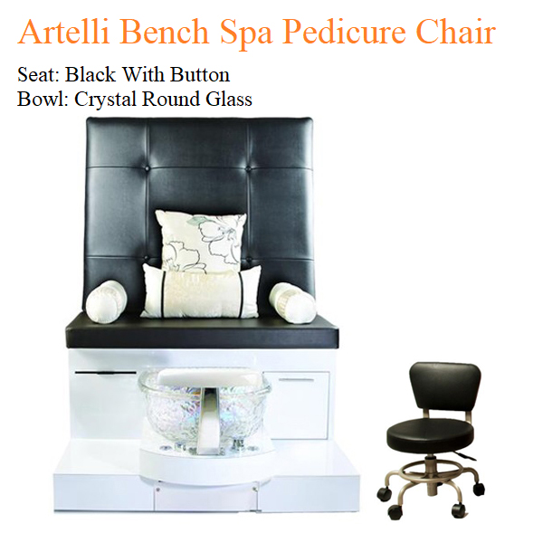 Artelli Bench Luxury Spa Pedicure Chair with Magnetic Jet – Human Touch Massage System