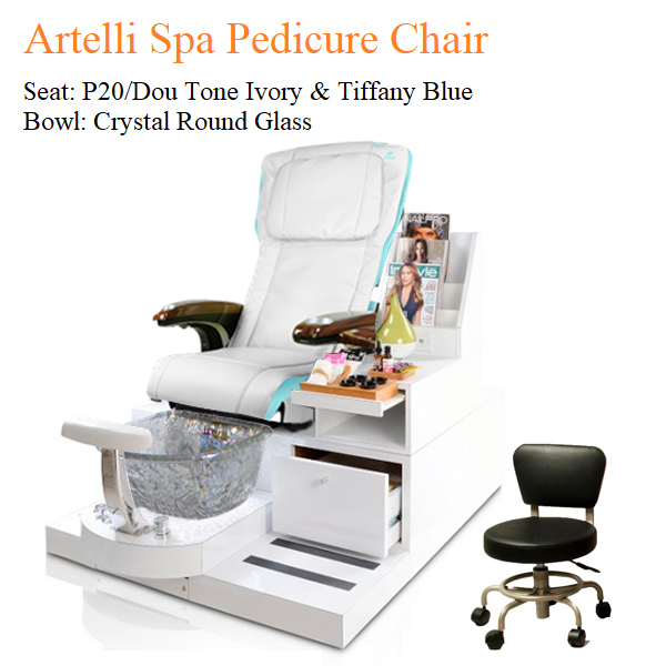 Artelli Luxury Spa Pedicure Chair with Magnetic Jet – Human Touch Massage System 02 - Khuyến mãi