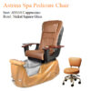 Astrina Spa Pedicure Chair with Magnetic Jet – Human Touch Massage System