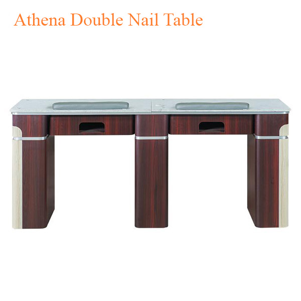 Athena Double Nail Table 69 inches 0 - Top Selling