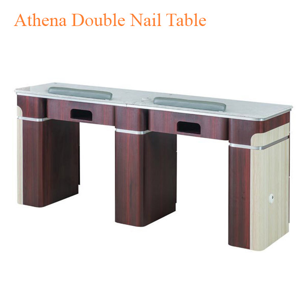 Athena Double Nail Table – 69 inches