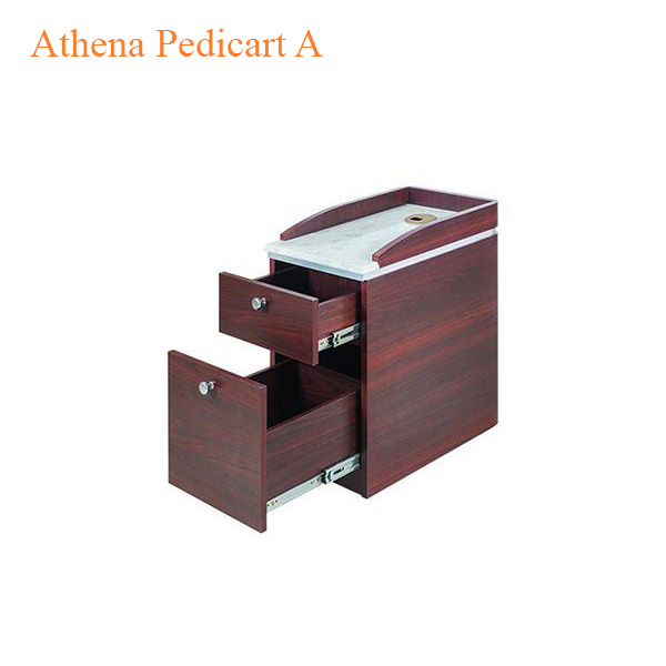 Athena Pedicart A With Built-In Trash Can – 13 inches