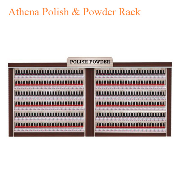 Athena Polish & Powder Rack – 86 inches