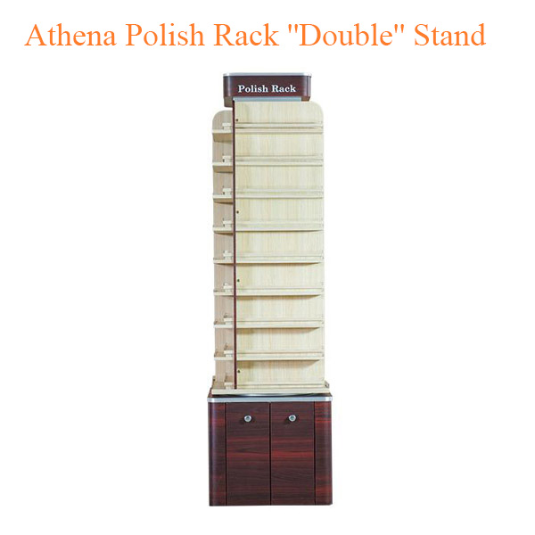 "Athena Polish Rack ""Double"" Stand – 21 inches"