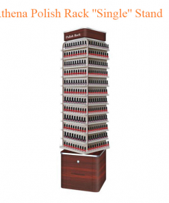 "Athena Polish Rack ""Single"" Stand – 19 inches"