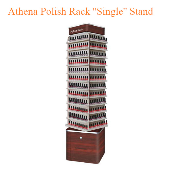 "Athena Polish Rack ""Single"" Stand – 19 inches"