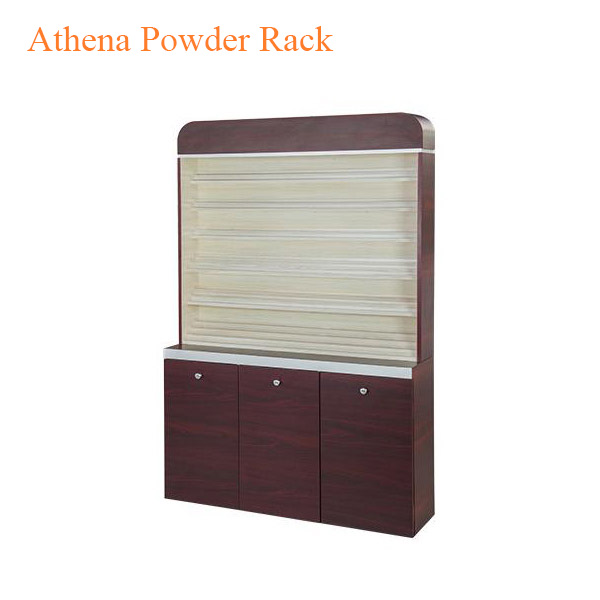 Athena Powder Rack With Powder Cabinet – 48 inches