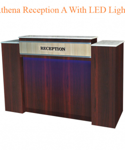 Athena Reception A With LED Light – 64 inches