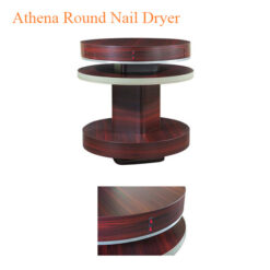 Athena Round Nail Dryer For 6 People – 38 inches