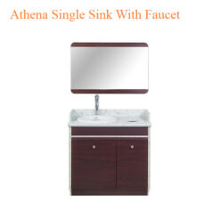 Athena Single Sink With Faucet – 35 inches
