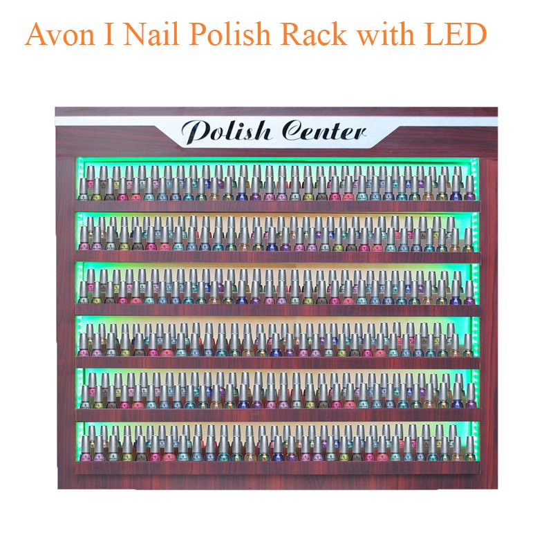 Avon I Nail Polish Rack with LED – 43 inches