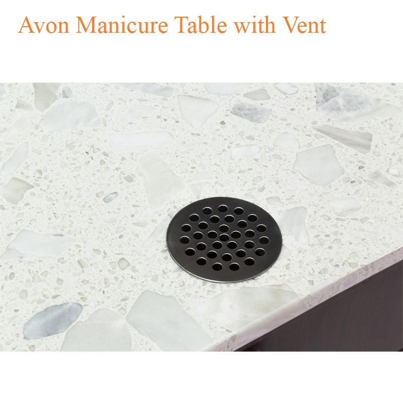Avon Manicure Table with Vent – 40 inches