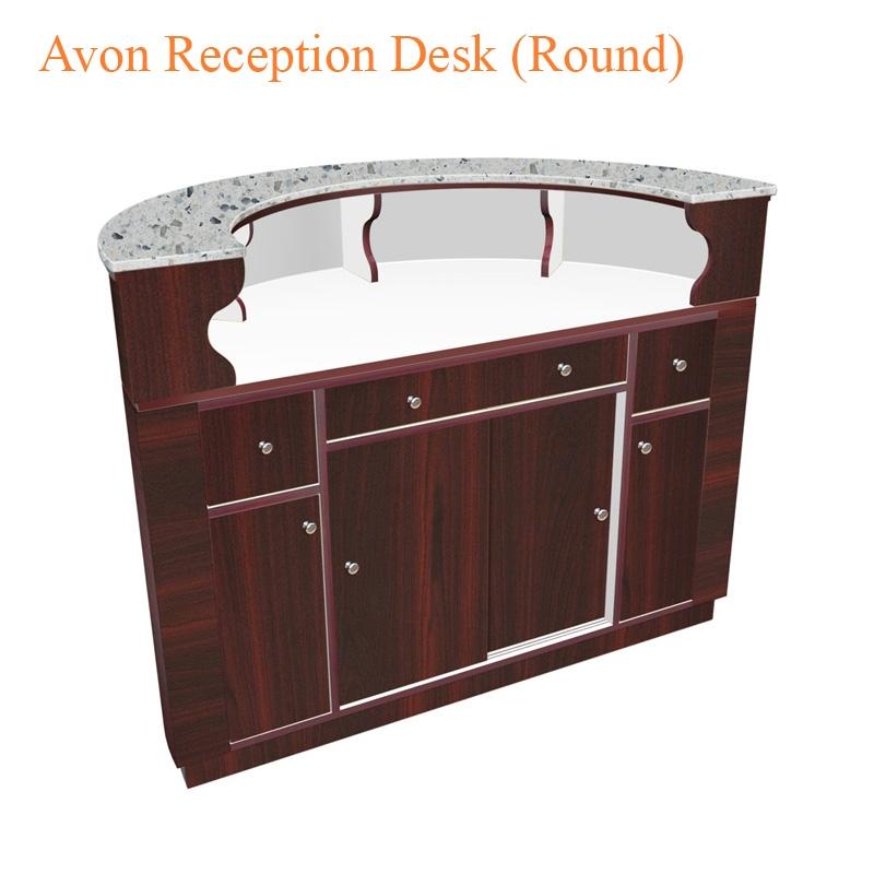 Avon Reception Desk (Round) – 55 inches