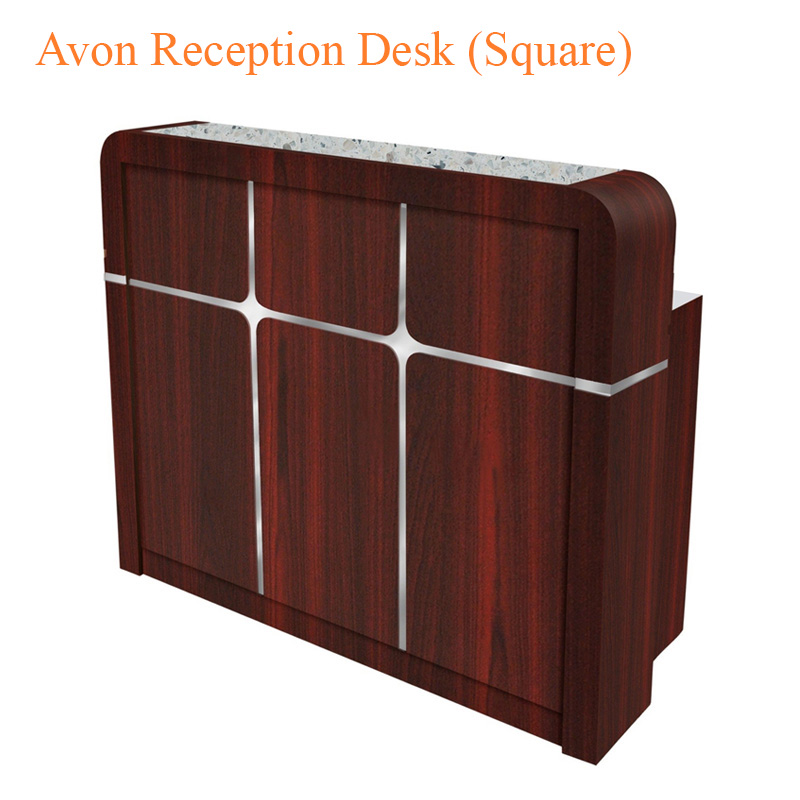 Avon Reception Desk (Square) – 50 inches