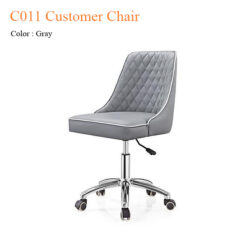 C011 Customer Chair with Trim Line & Diamond Cut
