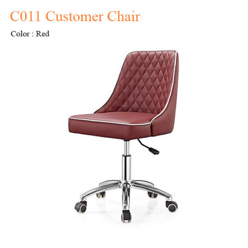 C011 Customer Chair with Trim Line & Diamond Cut