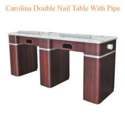 Bàn Nail Carolina Đôi Với Ống – 73 Inches