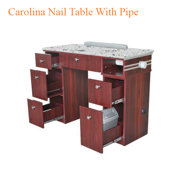 Carolina Nail Table With Pipe – 40 inches