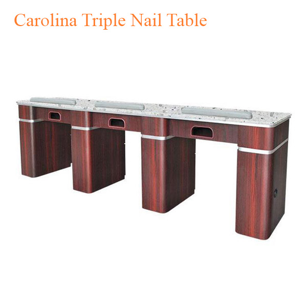 Carolina Triple Nail Table – 104 inches