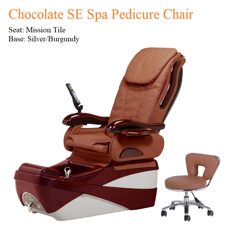 Chocolate SE Spa Pedicure Chair with Magnetic Jet