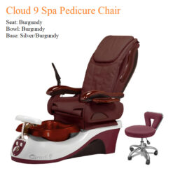 Cloud 9 Spa Pedicure Chair with Magnetic Jet – Air Pocket Massage