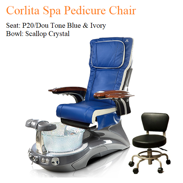Corlita Spa Pedicure Chair with Magnetic Jet – Human Touch Massage System