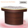 Custom Made Sonoma Corner Nail Minibar – 47 inches
