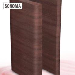 Custom Made Sonoma End Nail Minibar (Pair) – 38 inches