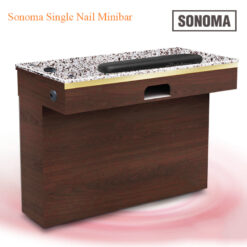 Custom Made Sonoma Single Nail Minibar – 39 inches