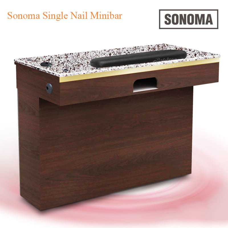 Custom Made Sonoma Single Nail Minibar – 39 inches
