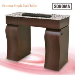 Custom Made Sonoma Single Nail Table – 40 inches