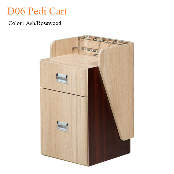 D06 Pedi Cart (Ash/Rosewood) – 23 inches